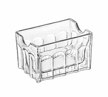 "Libbey Glass 5258 Gibraltar Glass Sugar Packet Holder 3-1/2"""