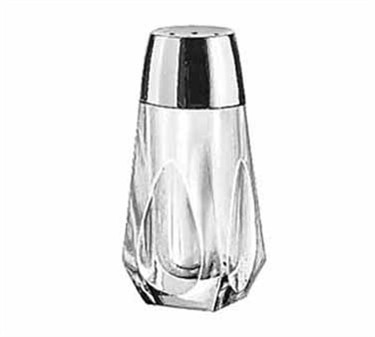 Libbey Glass 5037 Glass 1-1/2 oz. Salt/Pepper Shaker with Chrome-Plated Top