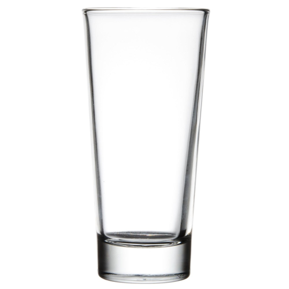 Libbey Glass 15814 Elan DuraTuff 14 oz. Beverage Glass