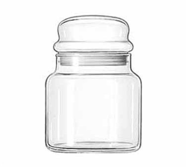 Libbey Glass 22 Oz. Storage Jar #16 - 5-1/2