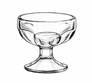 Libbey Glass 5162 4-1/2 oz. Sherbet Dish