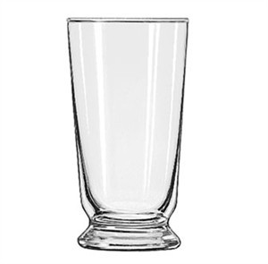 Libbey Glass 1451HT Heat-Treated 10 oz. Footed Malted Glass