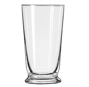 Libbey Glass 1453HT Heat-Treated 12-1/2 oz. Footed Soda Glass