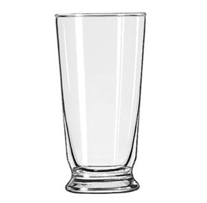 Libbey Heat-Treated 14 Oz. Footed Soda Glass With Safedge Rim