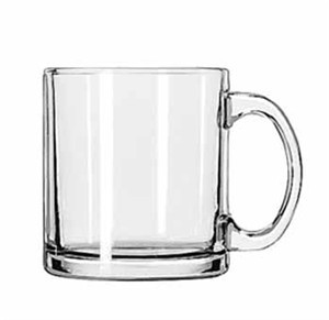 Libbey Glass 5213 Hoffman House Style 13 oz. Coffee Mug