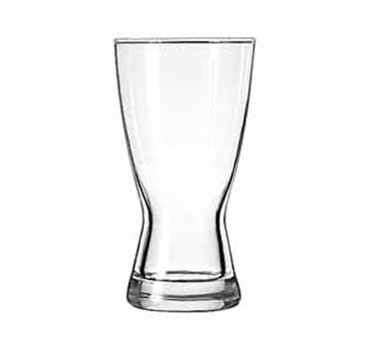 Libbey Glass 1181HT Hourglass 12 oz. Pilsner Glass