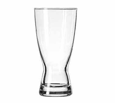 Libbey Glass 1183HT Hourglass 15 oz. Pilsner Glass