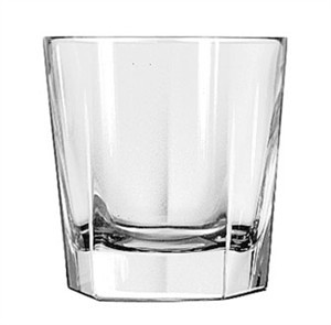 Libbey Glass 15482 Inverness DuraTuff 12-1/2 oz. Double Old Fashioned Glass