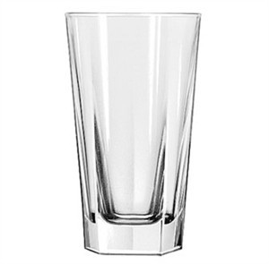 Libbey Glass 15483 Inverness DuraTuff 12 oz. Beverage Glass