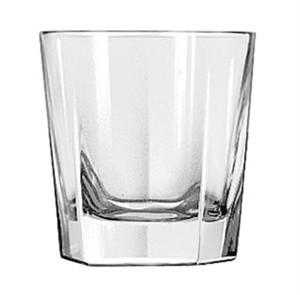 Libbey Glass 15480 Inverness DuraTuff 7 oz. Rocks Glass