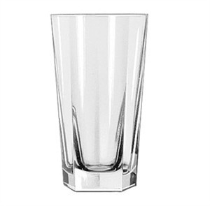 Libbey Glass 15485 Inverness DuraTuff 9 oz. Hi-Ball Glass