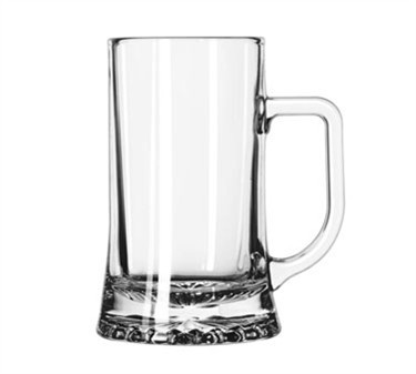 Libbey Glass 2329D1I50 Maxim 17 oz. Elegant Glass Mug
