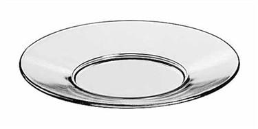 "Libbey Glass 5335 Moderno 6 1/4"" Glass Salad/Dessert Plate"