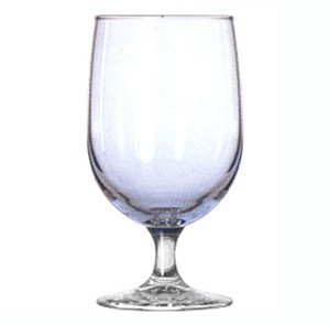 Libbey Glass 8512A4 Montibello 16 oz. Misty Blue Iced Tea Glass