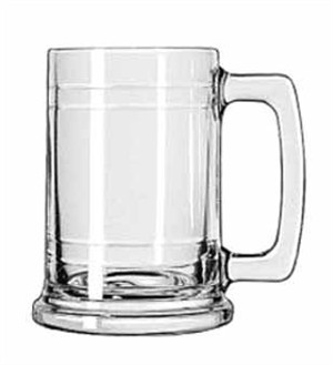 Libbey Glass 5027 Maritime 15 oz. Glass Mug