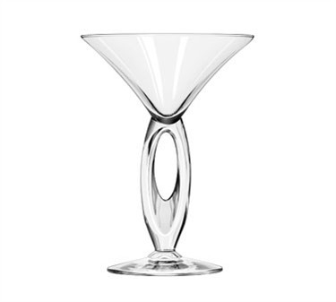 Libbey Glass 8883 Omega 6-3/4 oz. Martini Glass