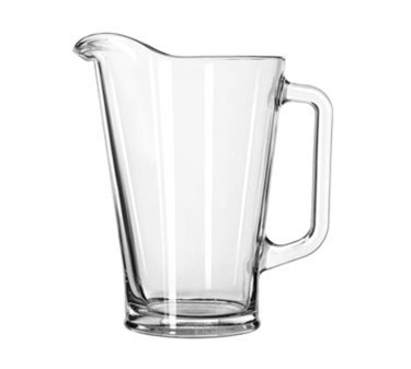 Libbey One-Liter Glass Beer Pitcher