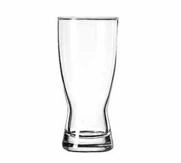 Libbey Pilsner Glass, 11 oz., Safedge rim, hourglass, (Top diameter 2.75