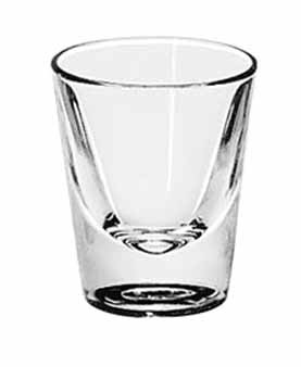 Libbey Glass 5120 1-1/2 oz. Lined Whiskey Shot Glass