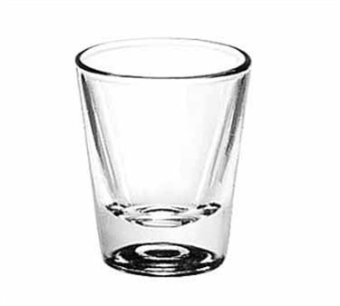 Libbey Glass 5121 1-1/4 oz. Whiskey Shot Glass