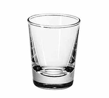 Libbey Plain 2 Oz. Lined Whiskey Shot Glass
