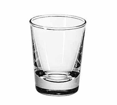Libbey Glass 48 Plain 2 oz. Lined Whiskey Shot Glass