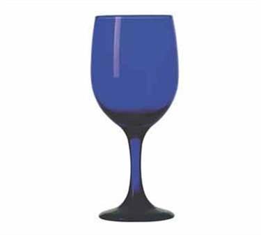 Libbey Glass 4111SRB Premiere 11-1/2 oz. Cobalt Goblet Glass