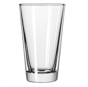 Libbey Glass 15141 Restaurant Basics DuraTuff 14 oz. Mixing Glass