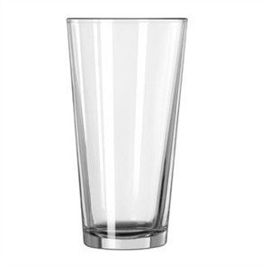 Libbey Glass 15144 Restaurant Basics DuraTuff 20 oz. Mixing Glass