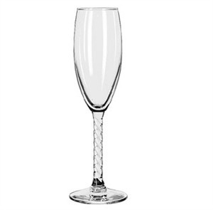 Libbey Revolution 5-3/4 Oz. Flute Glass With Safedge Rim