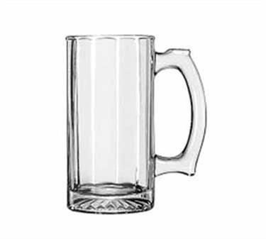 Libbey Glass 52733 Rugged 12.5 oz. Paneled Sports Mug