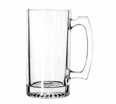 Libbey Glass 5272 Rugged 25 oz. Paneled Sports Mug