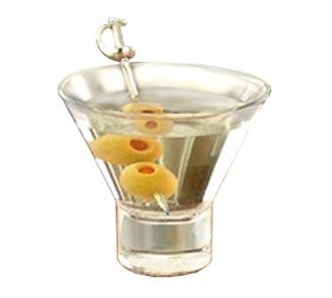 Libbey Glass 11057822 Series V225 7-5/8 oz. Cocktail Glass