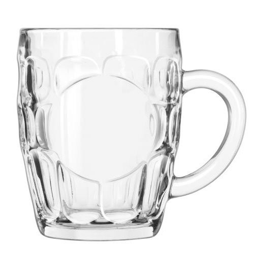 Libbey Glass 2187X1I55 Sintra 18 oz. Glass Lager Mug