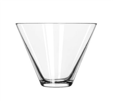 Libbey Glass 224 Stemless 13-1/2 oz. Martini Glass