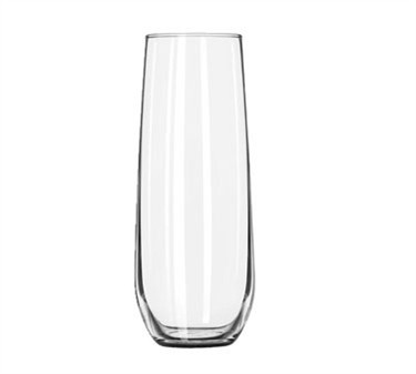 Libbey Glass 228 Stemless 17 oz. Slim White Wine Glass