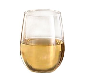 Libbey Glass 221 Stemless 17 oz. White Wine Glass