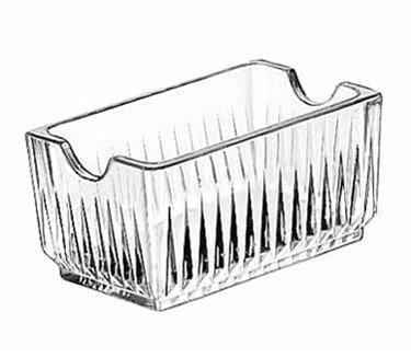 Libbey Glass 5460 Glass Sugar Packet Holder 4-1/4""