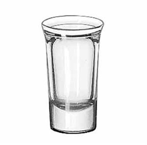 Libbey Glass 5033 Tall 1-1/8 oz. Whiskey Shot Glass