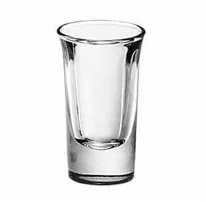 Libbey Glass 5031 Tall 1 oz. Whiskey Shot Glass