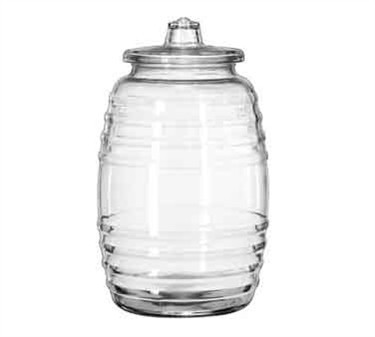 Libbey Glass 9520003 Crisa 10 Liter Glass Barrel with Lid