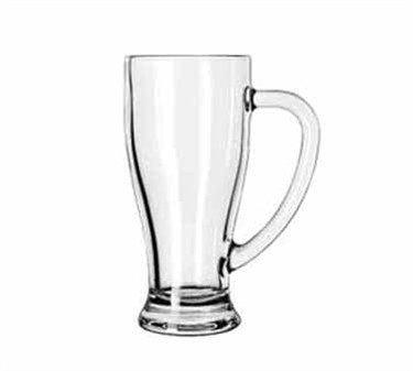 Libbey Glass 5286 Tall 14 oz. Cafe Mug with Handle