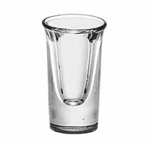 Libbey Glass 5030 Tall 3/4 oz. Whiskey Shot Glass