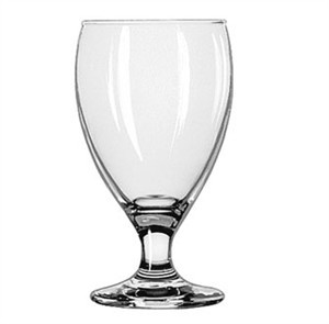 Libbey Teardrop 10-1/2 Oz. Goblet Glass With Safedge Rim/Foot