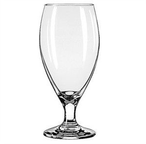 Libbey Glass 3915 Teardrop 14-3/4 oz. Beer Glass