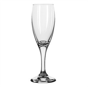 Libbey Teardrop 5-3/4 Oz. Flute Glass With Safedge Rim/Foot