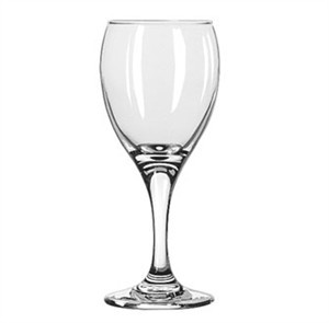 Libbey Glass 3966 Teardrop 6-1/2 oz. White Wine Glass