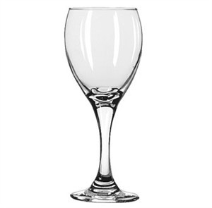 Libbey Glass 3965 Teardrop 8-1/2 oz. White Wine Glass