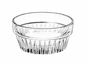 Libbey Glass 15445 Winchester DuraTuff 1-1/2 oz. Glass Ramekin