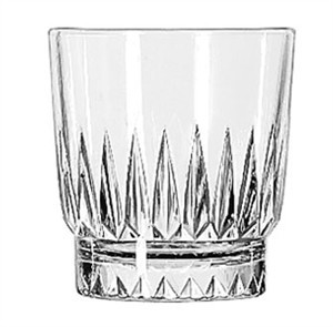 Libbey Glass 15454 Winchester DuraTuff 8 oz. Rocks Glass
